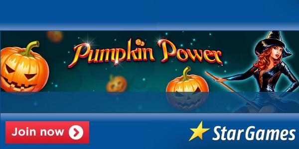 StarGames Casino Pumpkin Power slot promo