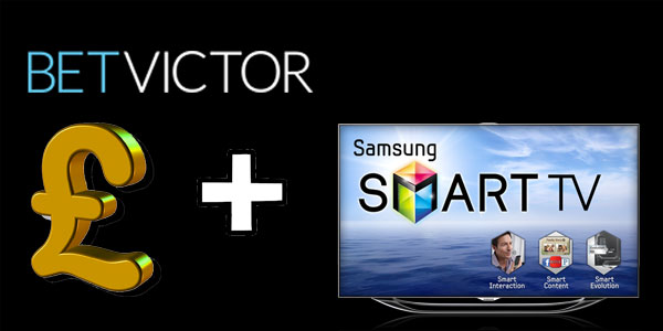 Win a new Samsung TV with BetVictor Casino