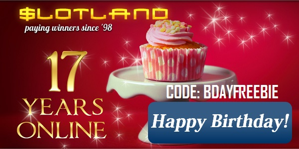 Claim a Freebie with this New Slotland Coupon Code