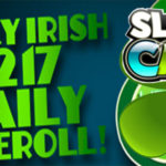 Look Into the Lucky Irish $217 Daily Freeroll at Slotocash Today