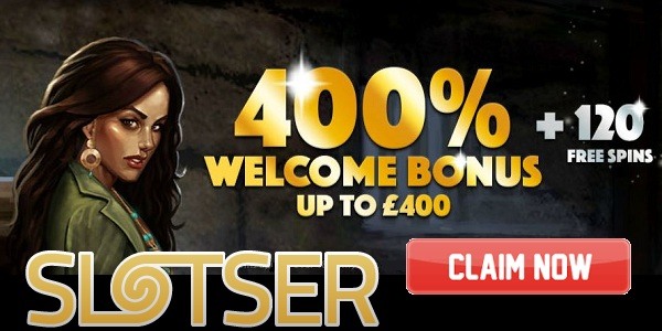 Slotser welcome bonus