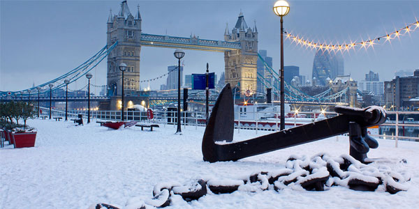 White Christmas in London