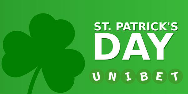 St. Patrick's Day special at Unibet Casino