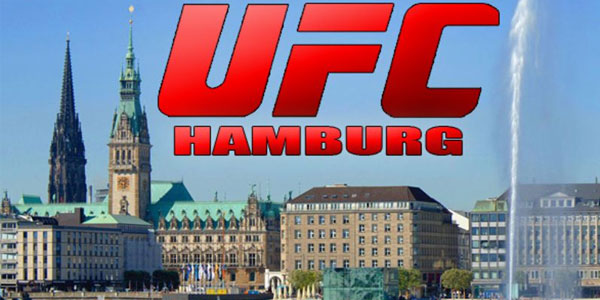 UFC fights in Germany