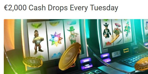 Unibet Casino weekly prize
