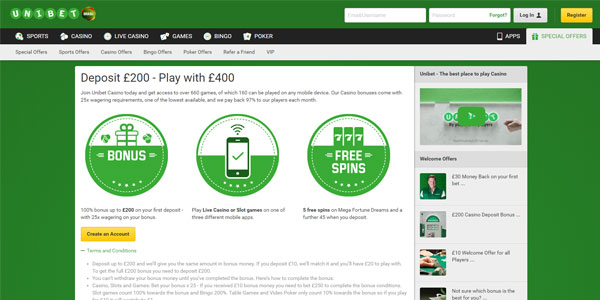 Join Unibet Today and Double Your Deposit!