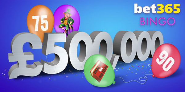 Weekend Party Bonus at Bet365 Bingo!