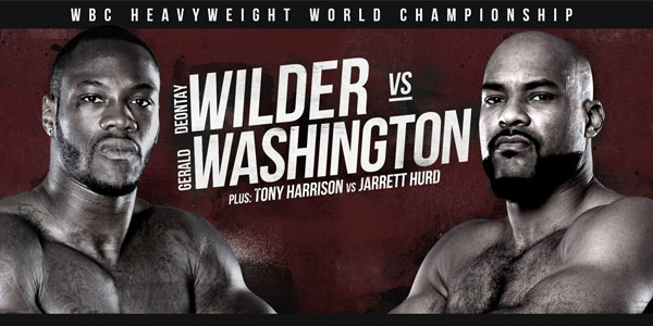 Wilder vs. Washington boxing match