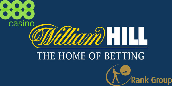 William Hill could Soon Merge with 888 and Rank