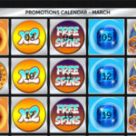 Earn Amazing Online Casino Bonuses Every Day of March with Spinson Casino!