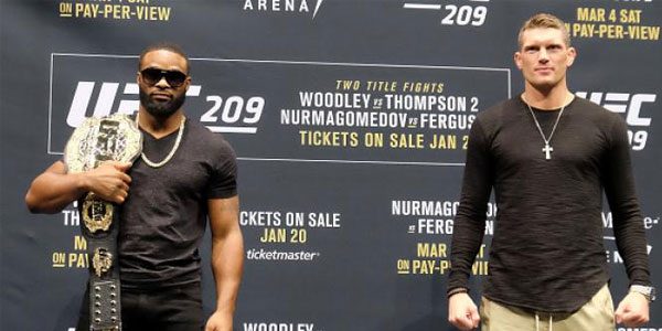 Bet on the UFC 209 title fights