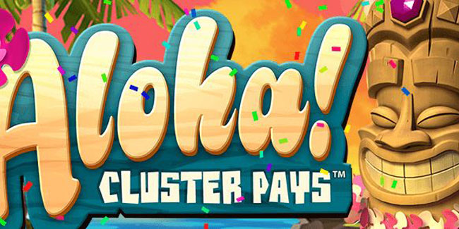 Play Aloha! Cluster Pays at Casino Room to win a trip to Hawaii or free spins