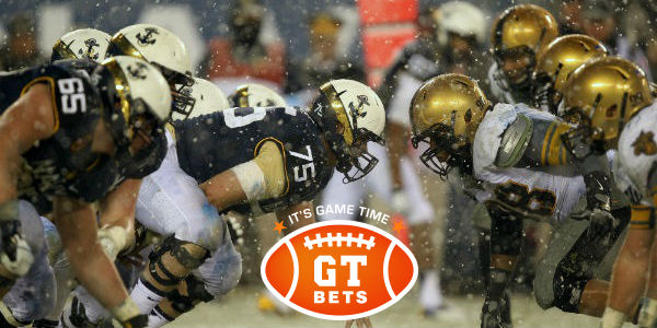 Bet on Army v Navy Football Game at GTbets!