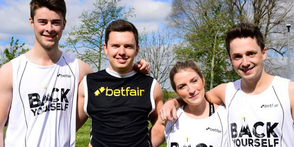 Back Yourself by bet on yourself at the London marathon