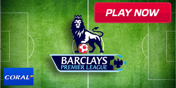 Get £35 Premier League Free Bets for Saturday's Games at Coral Sportsbook!