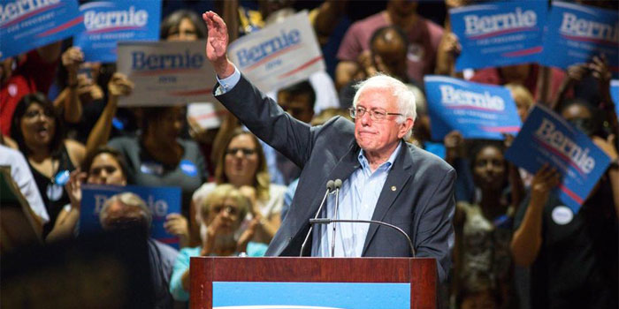 bet on the democratic primaries or the US presidential elections on Bernie Sanders