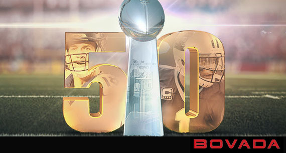 Bovada Sportsbook bet on Super Bowl 50 in the US promo