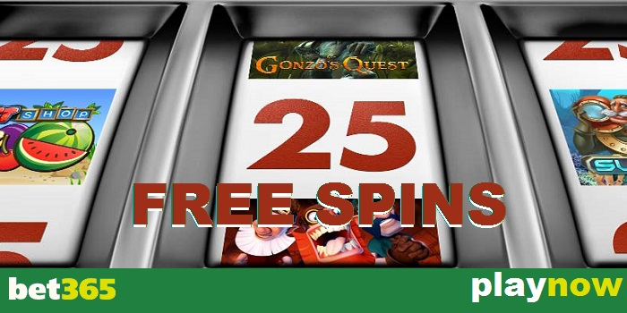 25 Free Rounds with Vegas at bet365 Casino promo