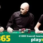 Participate in Daily €1,000 Freeroll Tournaments at Bet365 Poker