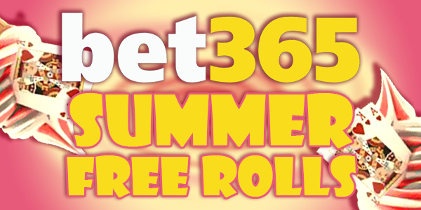 Win Bet365 Free Rolls on the Summer Games