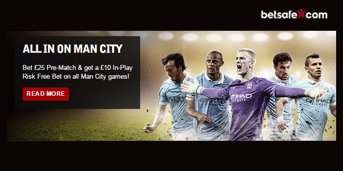 Bet and Get Premier League Safe Bets every week at Betsafe Sportsbook!