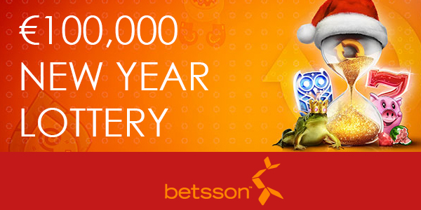 Betsson New Year lottery