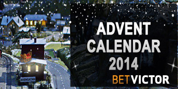 Daily prizes during Advent at BetVictor