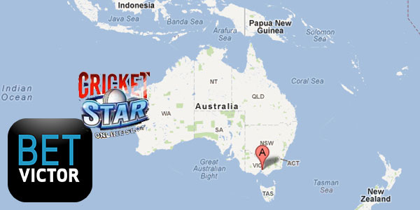 2nd March at BetVictor Casino's Cricket Star slot trip to Australia