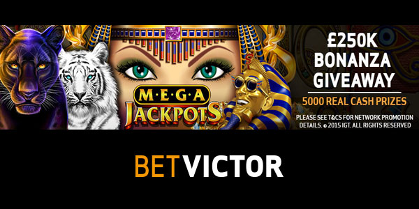 BetVictor Casino Giveaway Promo