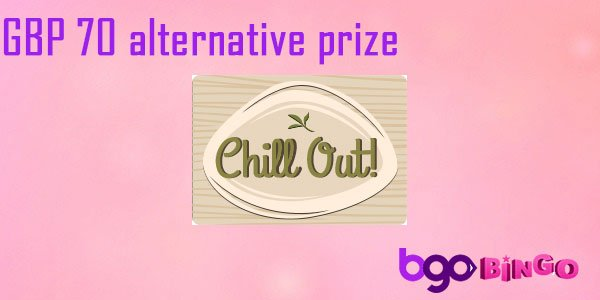 Win playing the Chill Out game at bgo Bingo