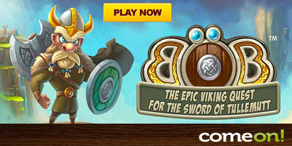 Viking themed video slot game