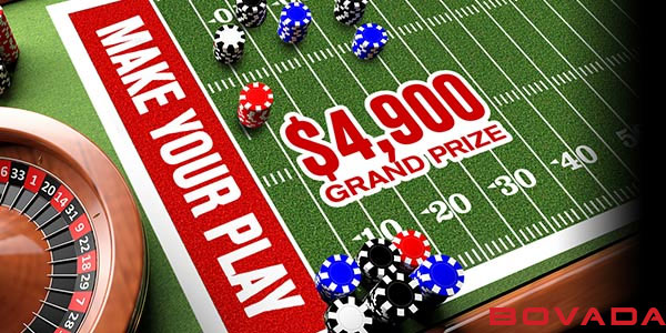 Bovada Sportsbook offers $490 in Super Sunday promo