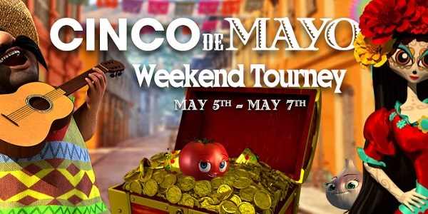 Win $300 Thanks to Cinco de Mayo Promotion at Vegas Crest Casino