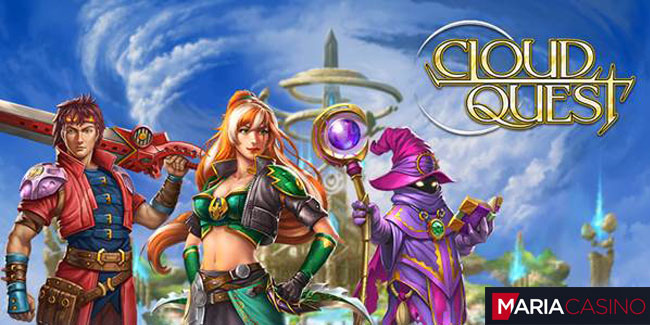 Play Cloud Quest slot at Maria Casino to win cash prizes or a trip to the Maldives!