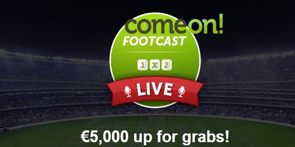 Bet on ComeOn! Sportsbook every week for extra chances to earn money