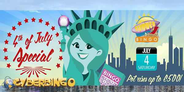 CyberBingo 4th of July Special