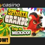 Play the Energetic Spinata Grande Slot at Energy Casino and Ole Your Way to Mexico