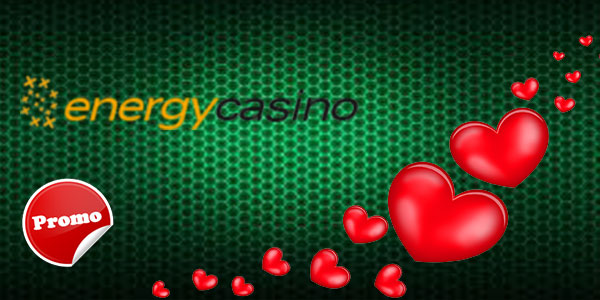 Energy Casino welcome bonus for UK, Energy Casino offers great 30 free spins in 'Love is in the Air' promo