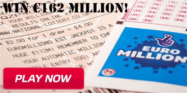 Play at EuroLotto and Win the €162M EuroMillions Jackpot Today! -