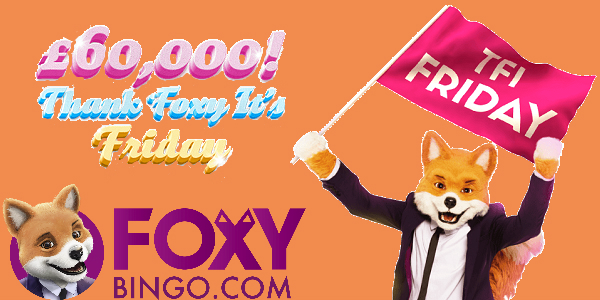 Foxy Bingo Friday Promo