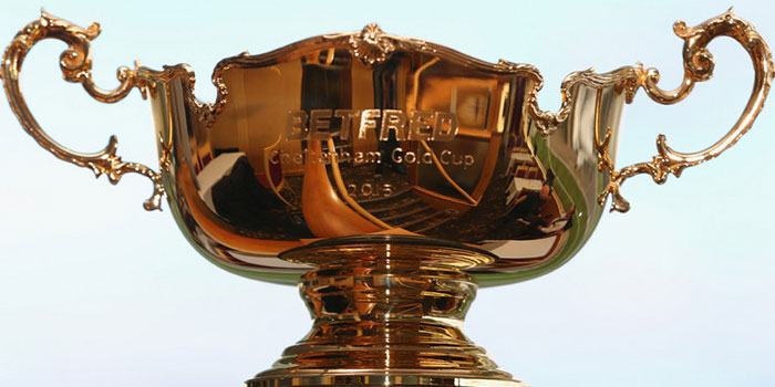 Gold Cup trophy bet on by punters online