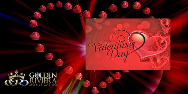 Play at Golden Riviera Casino and get a special prize for Valentine's