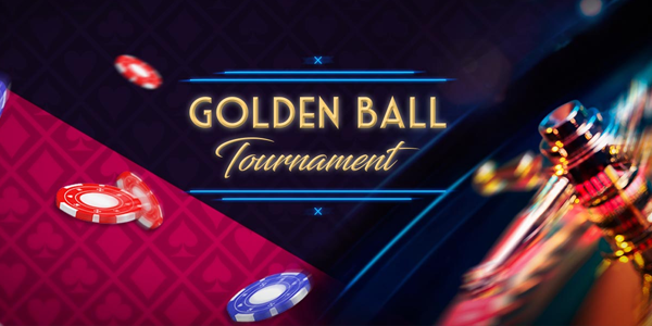 Win €500 on the Golden Ball Live Roulette Tournament