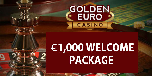 Golden Euro Casino welcome package