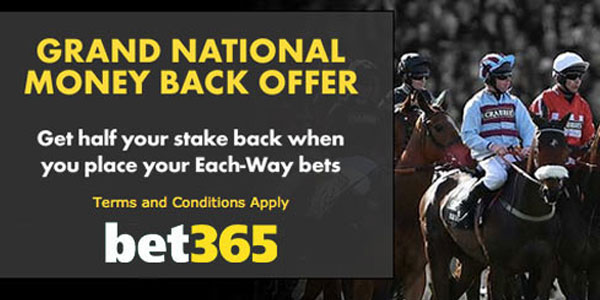 Exclusive Grand National offers from Bet365 Sportsbook
