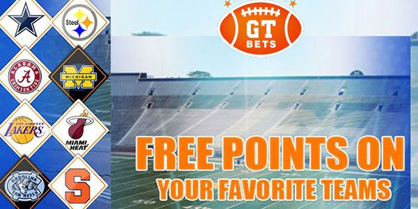 Join GTBets and Receive Free Points to Bet on Your Favorite Team