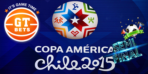 Wager on the Copa América Semi-final at GTbets Sportsbook