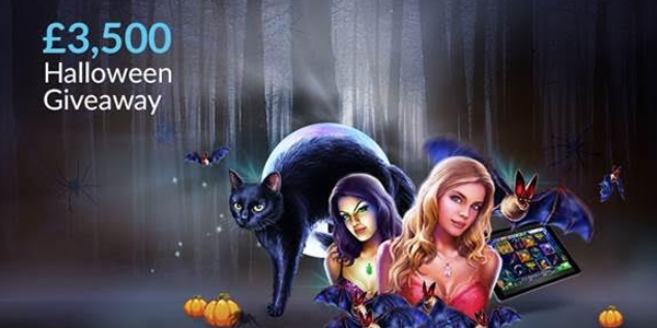 Join the Halloween Video Slot Giveaway