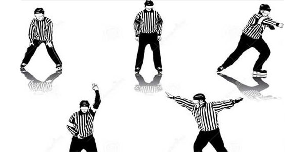 The Basic Rules of Ice Hockey – Officials in Hockey referee linesmen goal judge video judge
