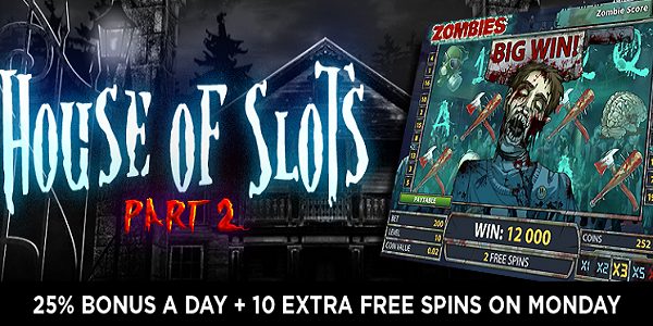 Awesome Halloween Casino Promotions at Omni Slots – House of Slots Part 2